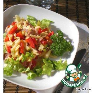 Рецепт: Салат «Скоро лето»