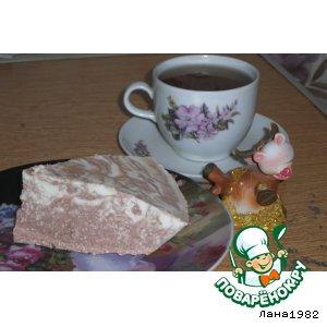 Рецепт: Торт-желе Зебра