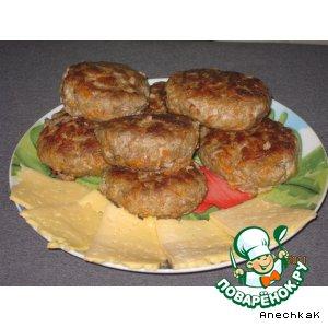 Рецепт: Котлеты из рубленого мяса и овощей