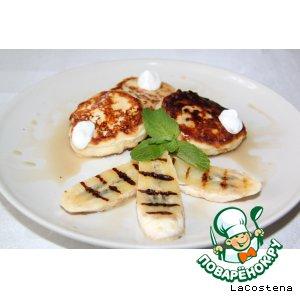 Рецепт: Французские сырники с бананом