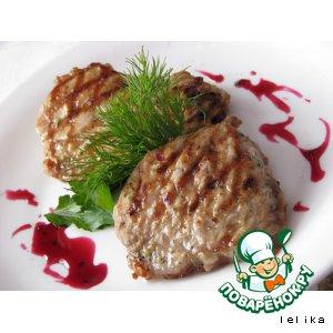 Рецепт: Эскалопы в сливочно-чесночном маринаде