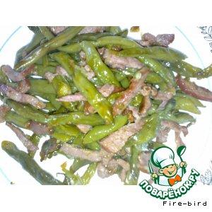 Рецепт: Гарнир с кенийской фасолью