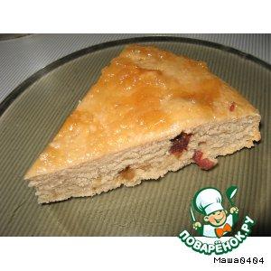 """Рецепт: Постный пирог """"Банкрот"""""""
