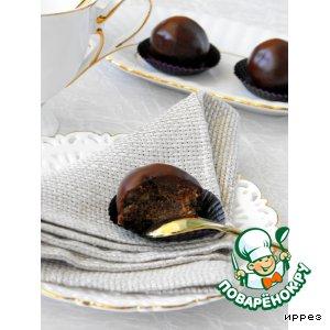 Рецепт: Пирожное Буковинский орех