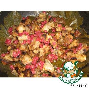 Рецепт Свинина с красной смородиной