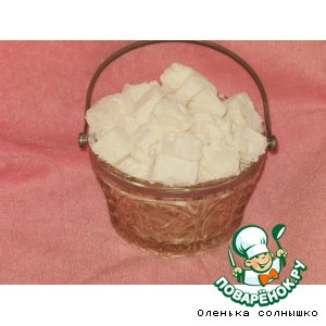 Рецепт: Домашние конфеты Маршмеллоу