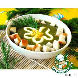 Рецепт: Суп Зеленка