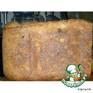 Рецепт: Картофельно-луковый хлеб