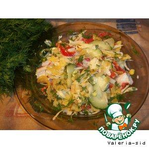 Рецепт: Американский салат для пикников