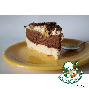 """Рецепт: Торт-суфле """"Наслаждение"""""""