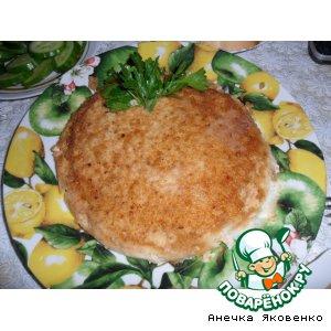 Рецепт: Мясной пудинг