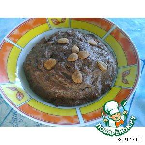 Рецепт: Паштет из кроличьей печени с орехами