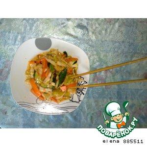 """Рецепт: Восточный салат """"Сан-ча"""""""