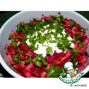 Рецепт: Салат с фейхоа