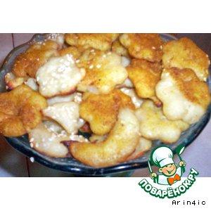 Рецепт: Печенье картофельное соленое