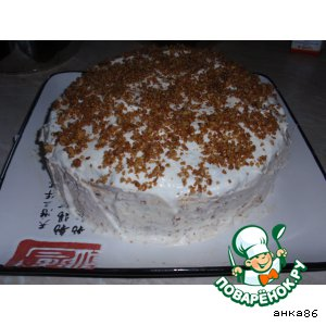 Рецепт: Флорентийский торт