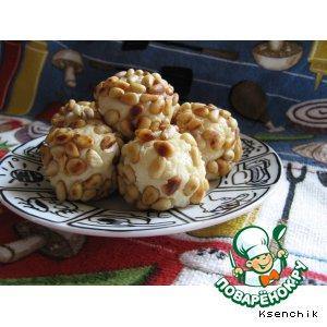 Рецепт: Сырные шарики с помидорами черри