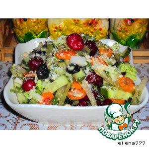 Рецепт: Хрустящий салат Взрывная свежесть