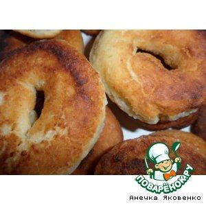 Рецепт: Сырные пончики
