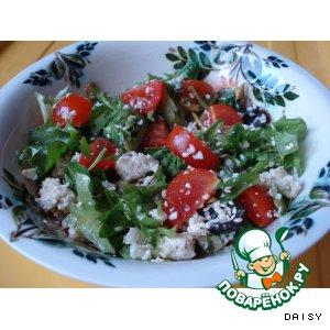 """Рецепт: Салат с сыром """"Панир"""""""