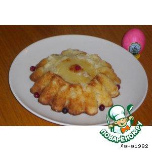 Рецепт Кекс ананасовый «Звездочка»