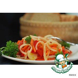 Рецепт: Овощной салат Шалгам