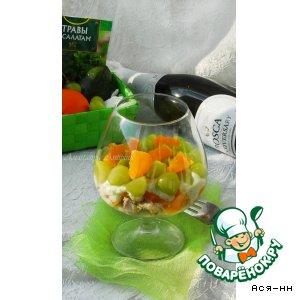 Рецепт: Салат из авокадо и курицы