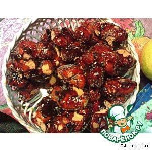 Рецепт: Шарики в меду Тейглах