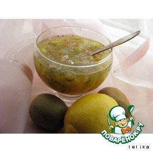 Рецепт: Варенье из киви и лимонов