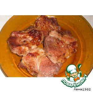 Рецепт: Свинина на пиве