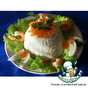 Рецепт: Суфле из белой рыбы