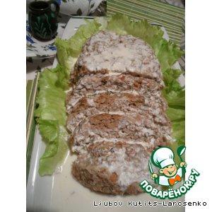 Рецепт Рубленое мясо с пряностями по-венгерски