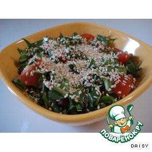 Рецепт: Салат с одуванчиками