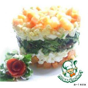 Рецепт: Салат Морковное удовольствие