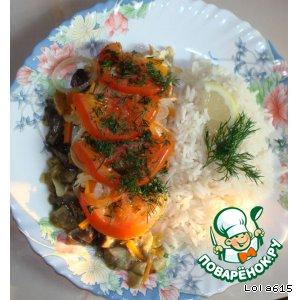 Рецепт: Мадемуазель семга