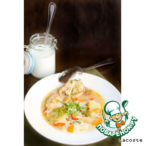 Рецепт Чилийский суп из конгрио