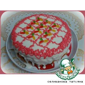 """Рецепт: Торт бисквитный """"Пуншевый"""""""