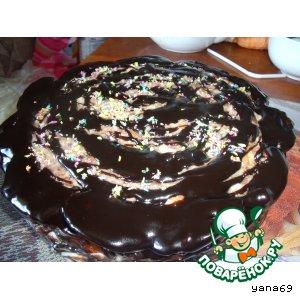 Рецепт: Торт из пряников