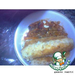 Рецепт Грибной  соус к картофельным крокетам
