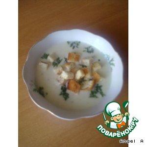 Рецепт: Чесночный суп-пюре