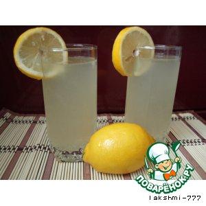Рецепт: Домашний лимонад из лимонов