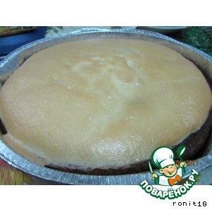 Рецепт Пирог творожно-лимонный