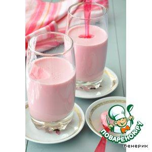 Алсу (кисломолочный продукт из молока, мeда и свеклы)