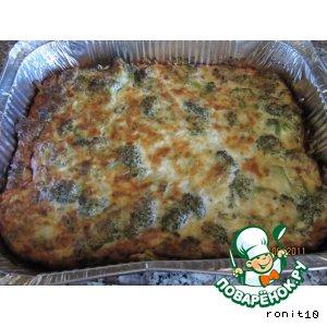 Рецепт: Запеканка с брокколи