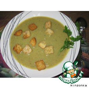 Горохово-капустный суп-пюре
