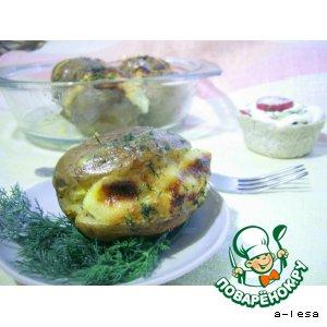 Рецепт: Картофель с начинкой