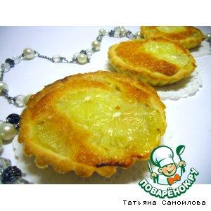 Рецепт Песочные пирожные с лимонной начинкой