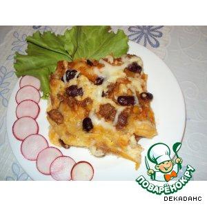 Рецепт: Лазанья со смесью mexicana