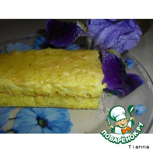 Рецепт: Кукурузные пирожные