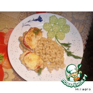 Рецепт: Любимая закуска, запеченная на нежнейшем курином филе